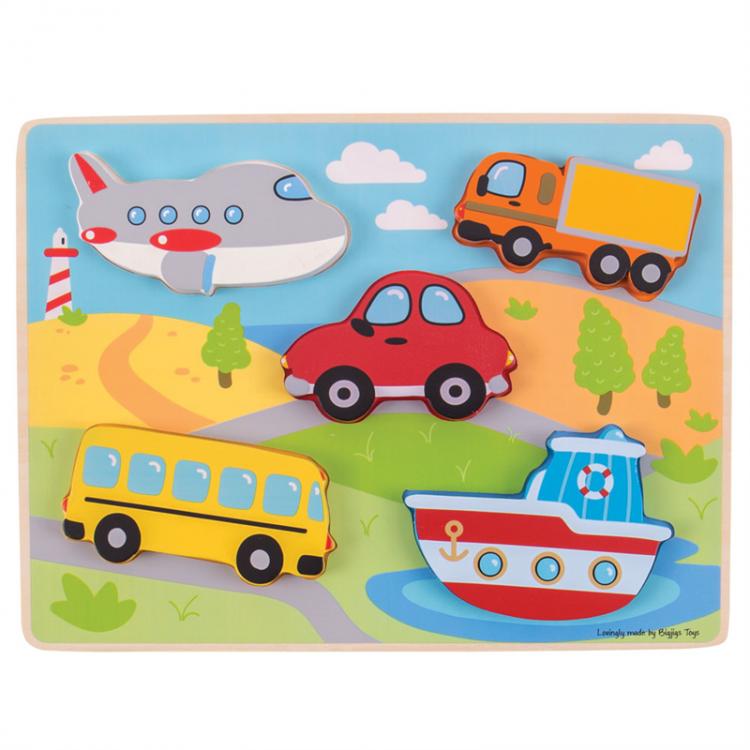 Holzpuzzle für Kleinkinder