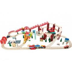 Holzeisenbahn - Meine Stadt