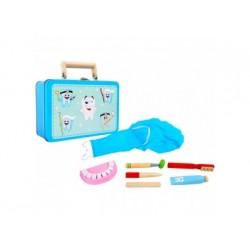 Kinder Zahnarztpraxis im Koffer