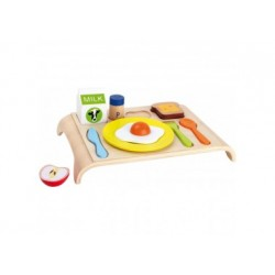 Frühstücksbrettchen Holz - Spielküchezubehör