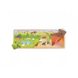 Puzzle - Auf dem Bauernhof