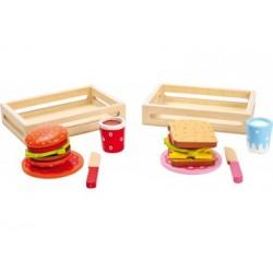 Hamburger und Sandwich - Spielküchezubehör