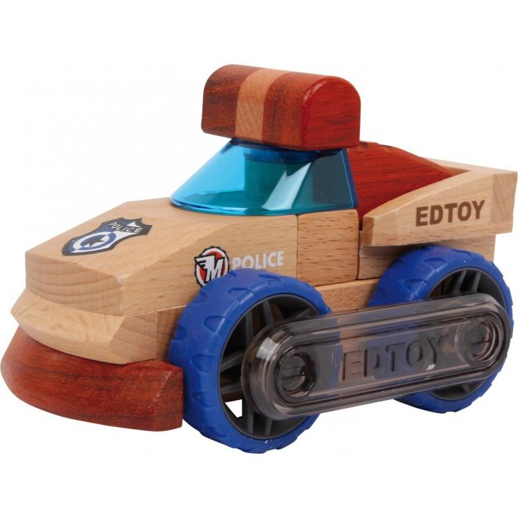 Polizeiauto Holz