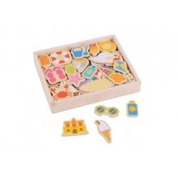 Magnete Strand - Bigjigs Toys