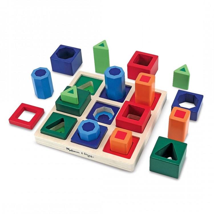 Steckspiel - Formen von Melissa & Doug
