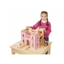 Puppenhaus - Prinzessin schloss aus Holz
