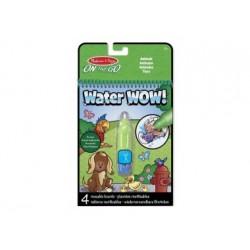 Wasserstift - Malbuch - Water Wow Tiere