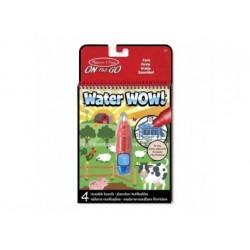 Wasserstift - Malbuch - Water Wow Bauernhof