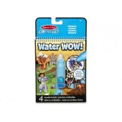 Wasserstift - Malbuch - Water Wow Abenteuer