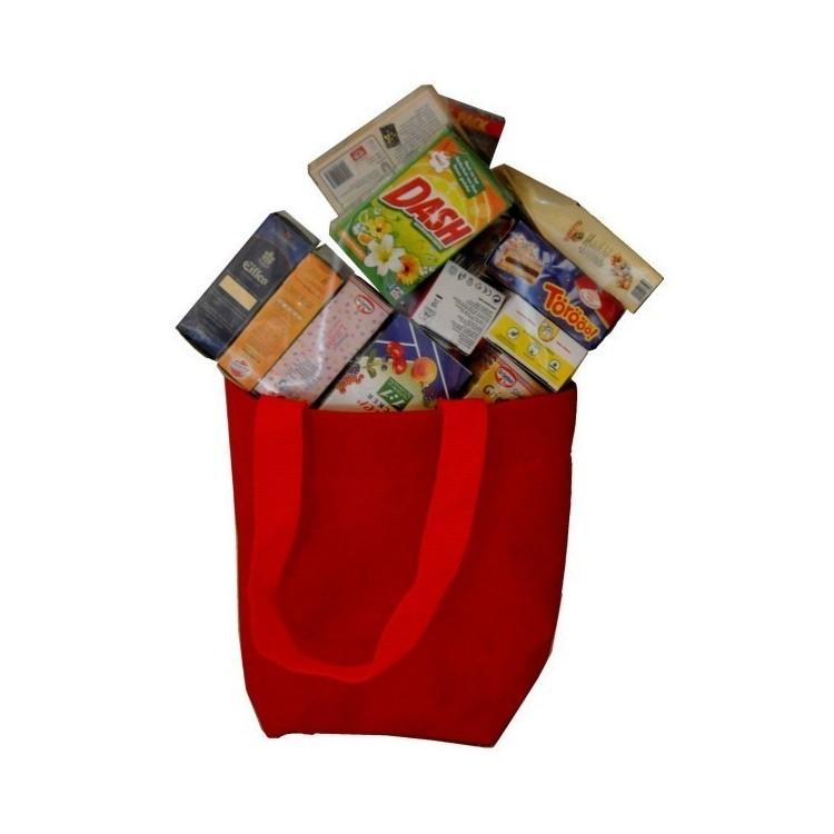 Kaufladen-Zubehör in Stofftasche