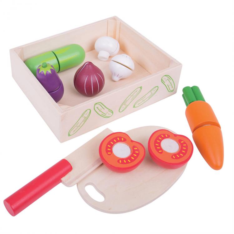 Gemüsebox mit Schneidbrett