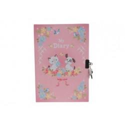 Kinder Tagebuch - Kätzchen und Hündchen
