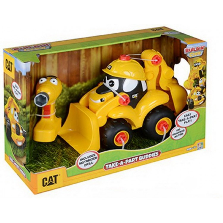 Kinder-Set Baufahrzeuge CAT