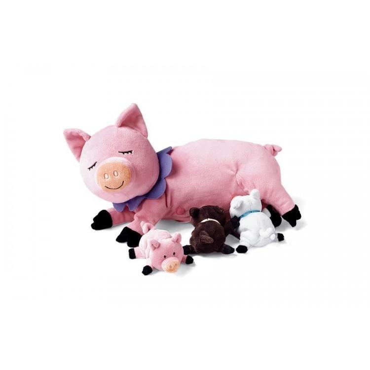 Plüschtier - Schwein - Manhattan Toy