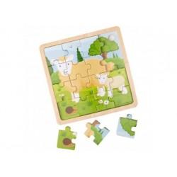 Holzpuzzle - Bigjigs Toys