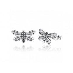 Ohrstecker aus Silber - Libellen