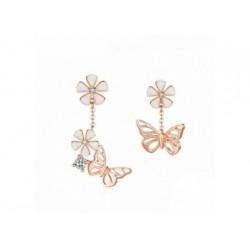Vergoldete Silber Ohrringe - Butterfly