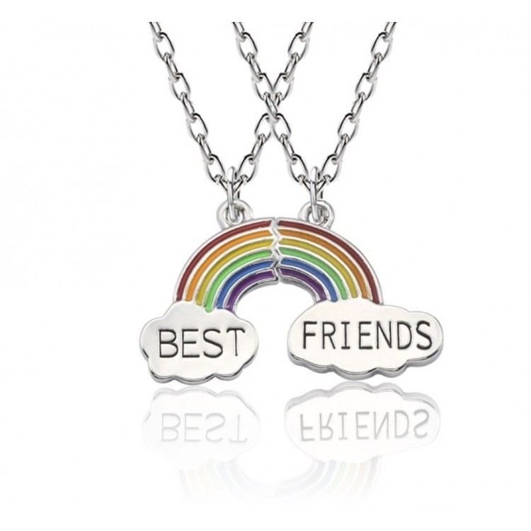 Best Friends Kette - Freundschaftsketten für 2 Mädchen