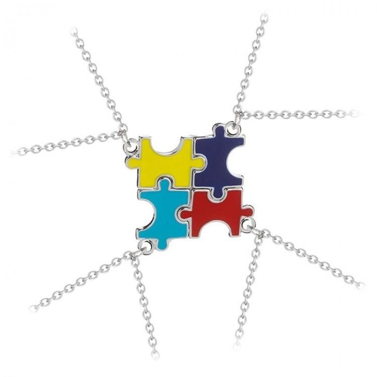 Freundschaftsketten für 4 Mädchen - Puzzle