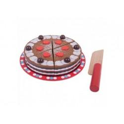 Spiel Torte aus Holz