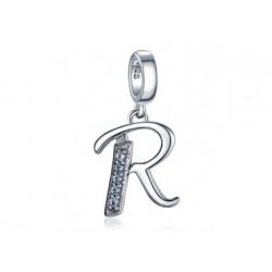 Ketten-Anhänger Buchstaben Silber R