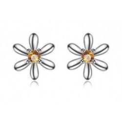Kinder-Ohrstecker Silber - Blumen