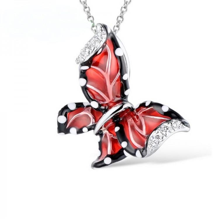Anhänger aus Silber - Schmetterling