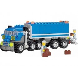 City - Truck mit Kofferauflieger