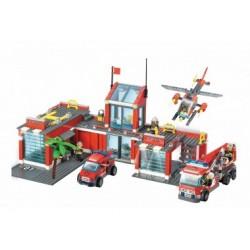 City - Grosse  Feuerwehrstation