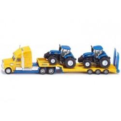Siku 1805, LKW mit New Holland Traktoren