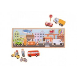 Bigjigs Toys - Magnetische Bild - Stadt
