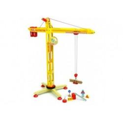 Spielzeugkran aus Holz, von Vilac