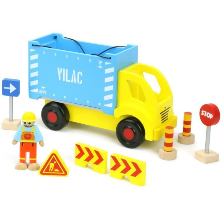 Containertruck mit abnehmbarem Container, Vilac