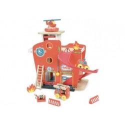 Feuerwehrstation aus Holz Vilac