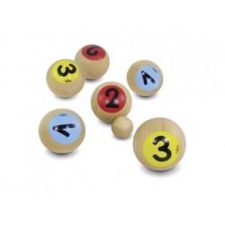 Petanque - Boule-Spiel aus Holz