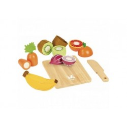 Früchte und Gemüse Set aus Holz Vilac