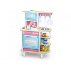 Spielküche aus Holz mit...