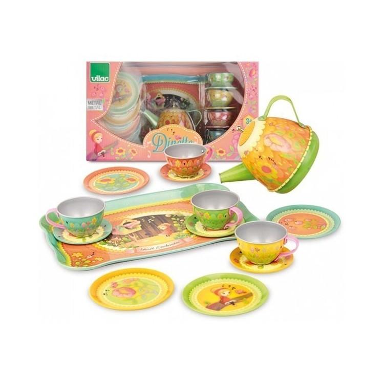 Kinder-Teeservice mit Musik - Vilac