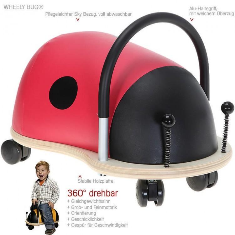 Wheely Bug Rutscher gross - Marienkäfer