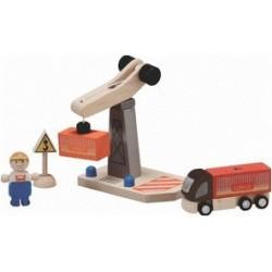 Plan Toys - Turmkran Set