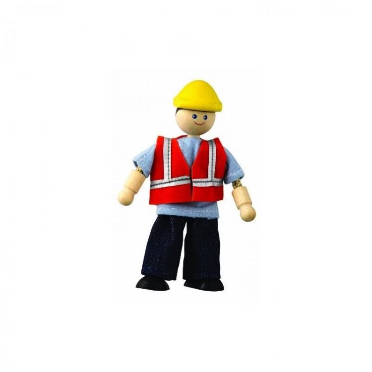 Biegepuppe - Bauarbeiter