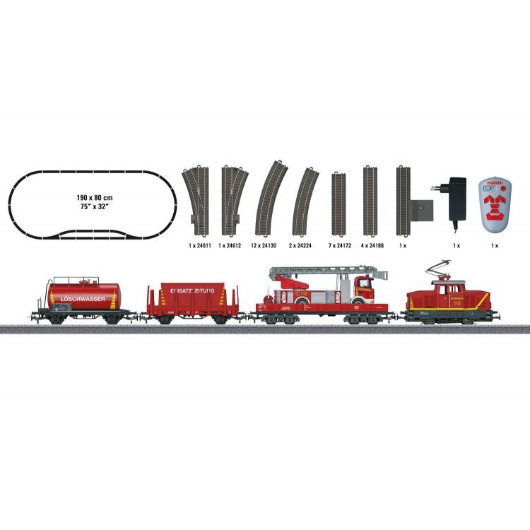 Märklin - Feuerwehr - Start up 29752