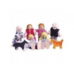 Biegepuppen - Puppen für Puppenhaus
