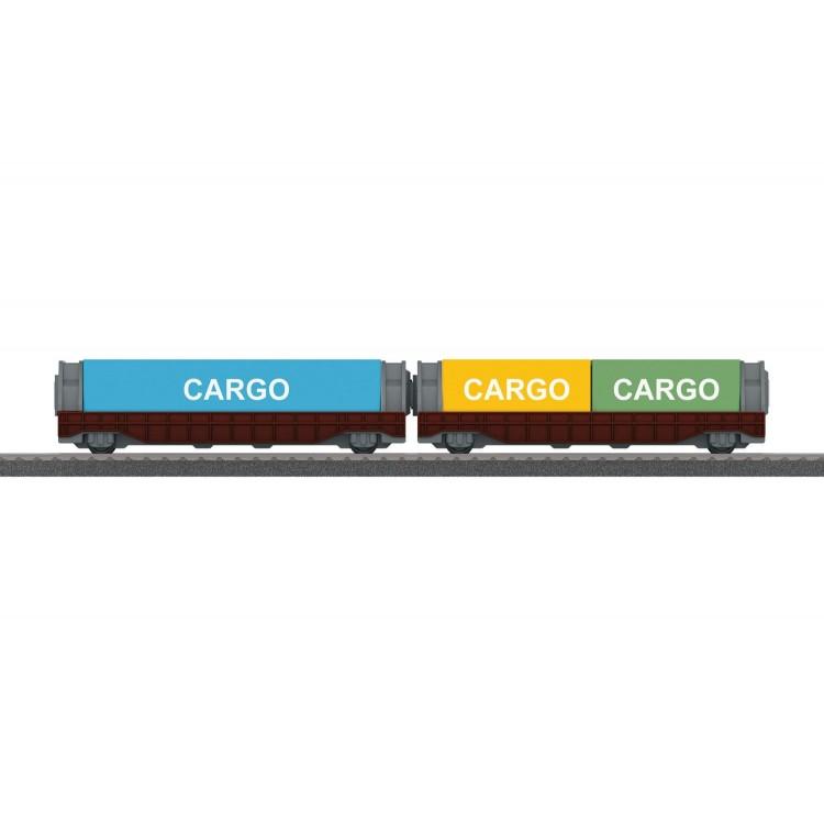 Märklin my world - Containerwagen-Set