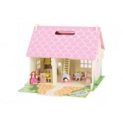 Puppenhaus aus Holz - Bigjigs
