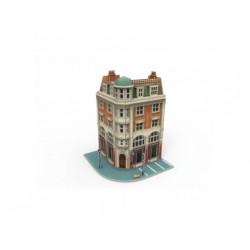 Märklin Start up - 3D Puzzle Eckhaus mit Bank