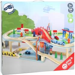 Holzeisenbahn - Doppelstöckig