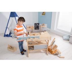 Kinderwerkbank aus Holz - Howa