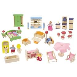 Puppenhaus aus Holz Strandvilla - Howa