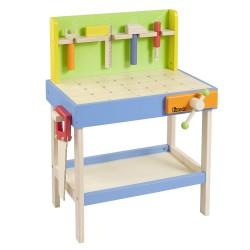 Kinderwerkbank aus Holz Profi - Howa